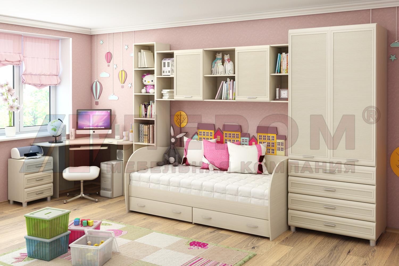 ea80a555098b0 Мебель для детской :: Детские спальни :: Детская Ксюша №7 (Лером ...